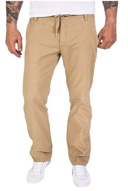 Pantalone di lino dal look sportivo