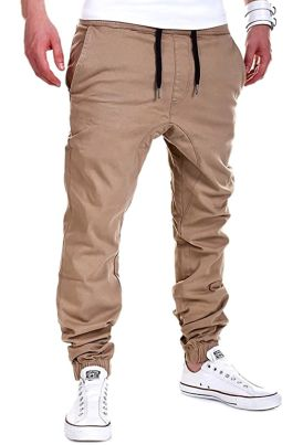 Pantaloni Cargo Jeans Jogging Sportivi