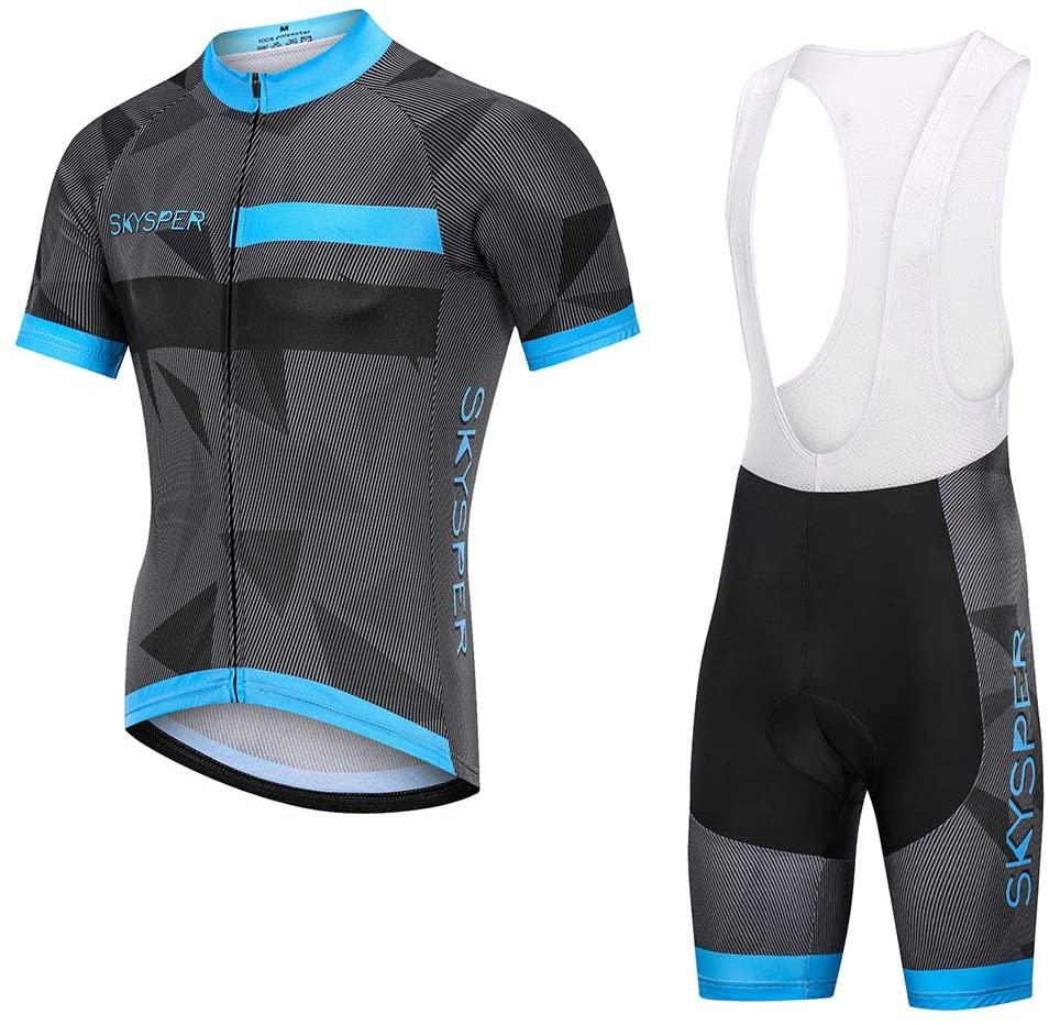 SKYSPER: Completo Ciclismo a Pantaloncino Corto
