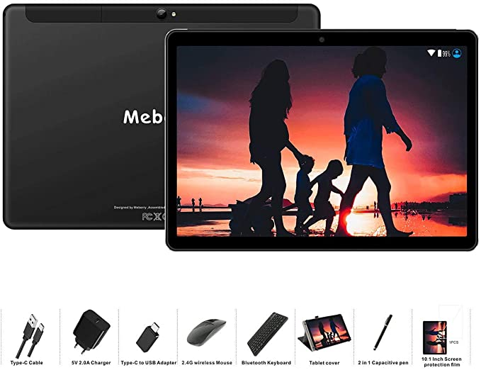 Tablet 10 Pollici MEBERRY Android 9.0 Pie T