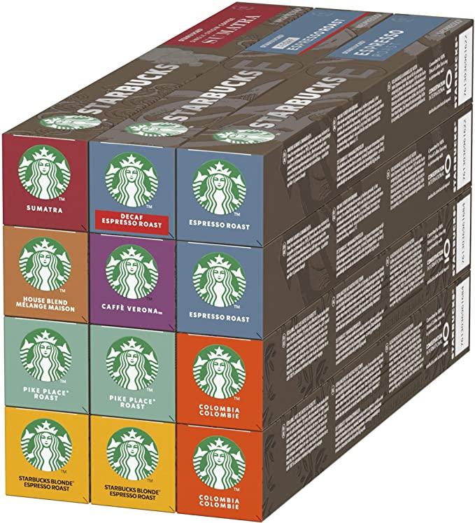 Capsule Nespresso by Starbucks