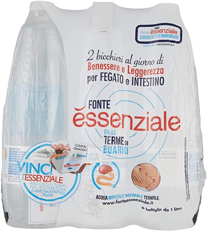 Essenziale Acqua Minerale Naturale
