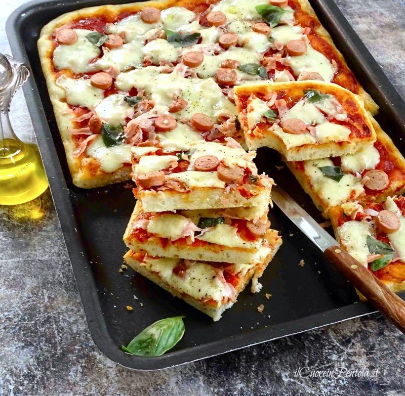 teglia per pizza