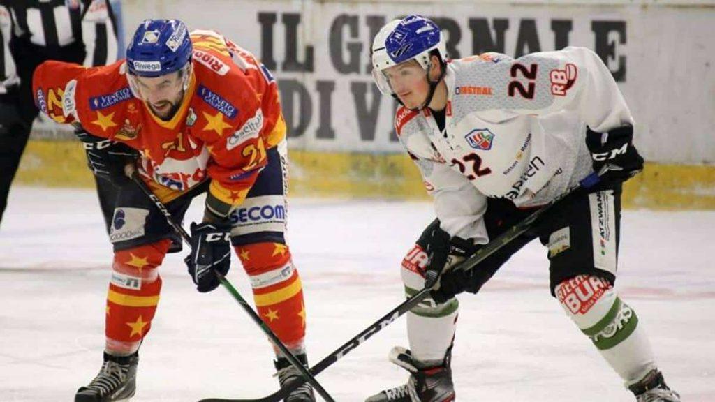 bastone da hockey su ghiaccio